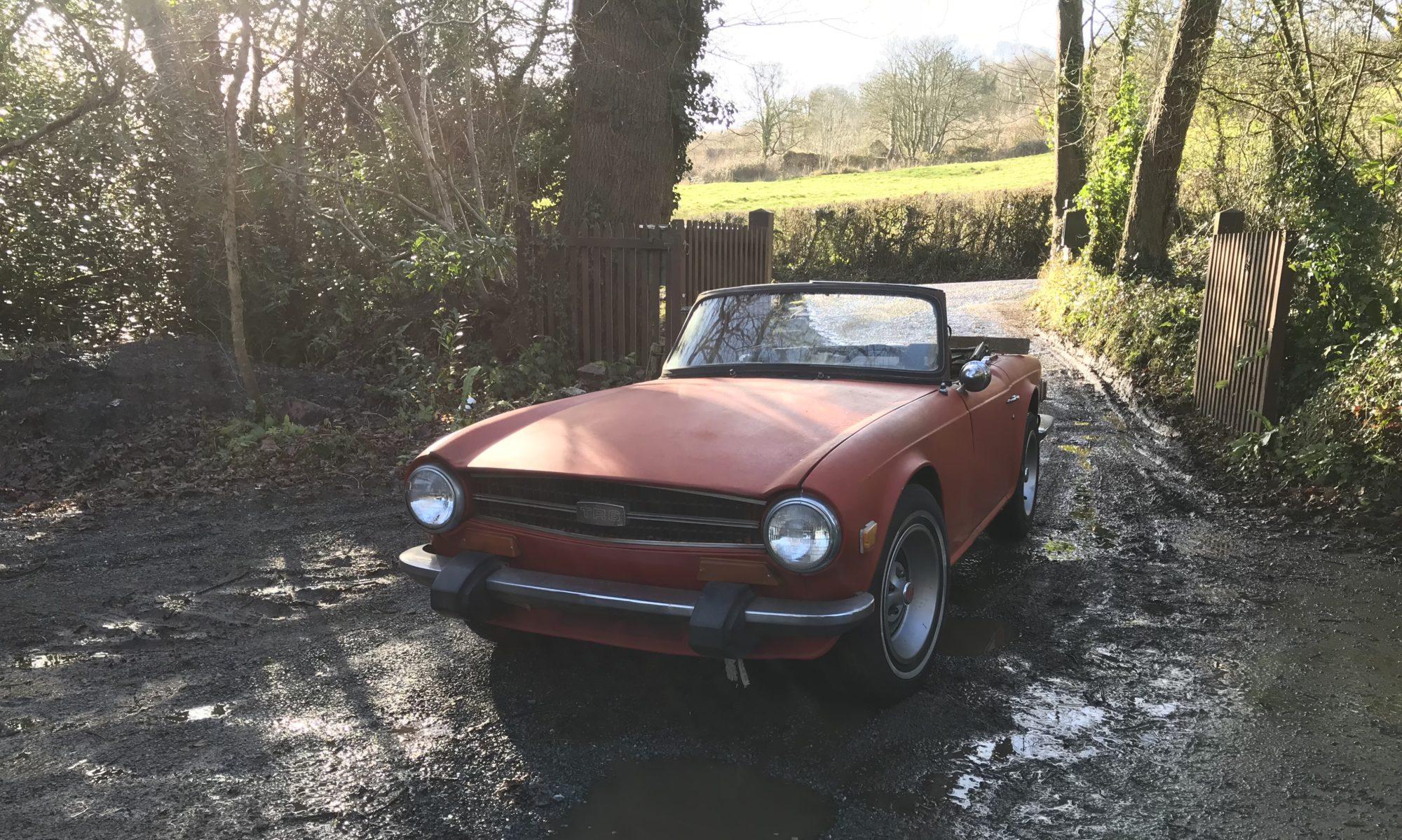 Triumph TR6 restauratie